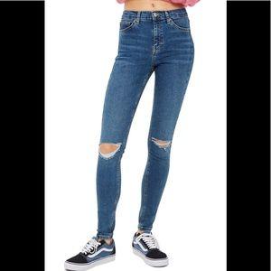Topshop Moro Jamie skinny jeans